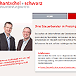 Screenshots Website hantschel + schwarz