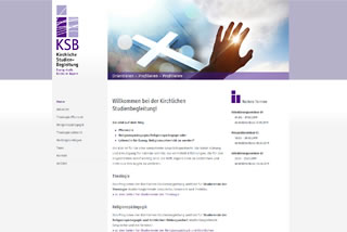 Screenshot der KSB-Website